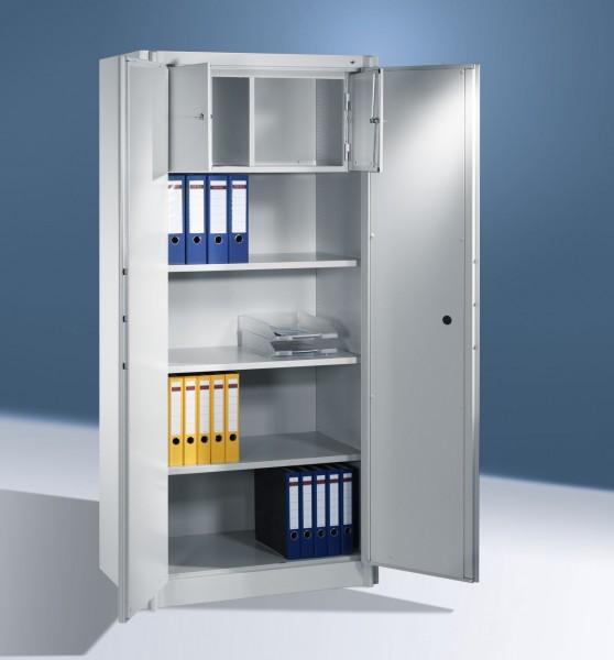 Feuerschutzschrank mit 2 Türen und Schließfach 1950x930x500 mm