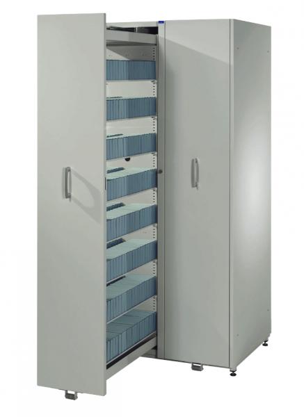Medienschrank / Apothekerschrank 1870 x 612 x 680 cm (HxBxT) ohne Fachböden