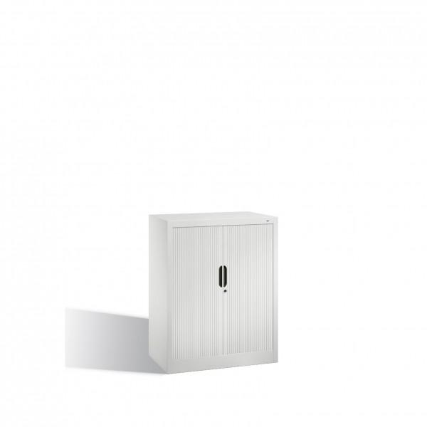 Akten-Sideboard Omnispace mit Rollladen, 2 Ordnerhöhen, H1030xB800xT420mm