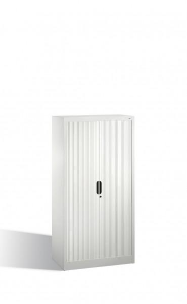 Akten-Sideboard Omnispace mit Rollladen, 4 Ordnerhöhen, H1660xB800xT420mm