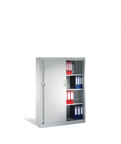 Akten-Sideboard Acurado mit Schiebetüren, 4 Ordnerhöhen, H1600xB1200xT400mm