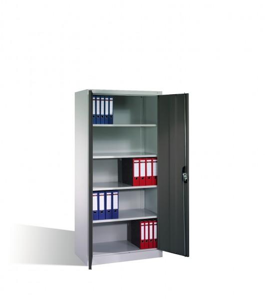 Büroschrank mit 2 Türen Größe: 1950 x 930 x 500 mm (HxBxT)