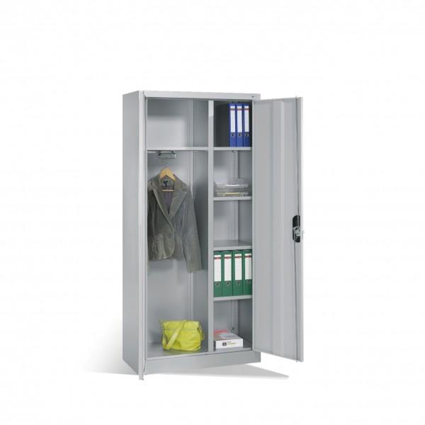 Büroschrank mit Hutboden und Garderobe Größe: 1950 x 930 x 400 mm (HxBxT)