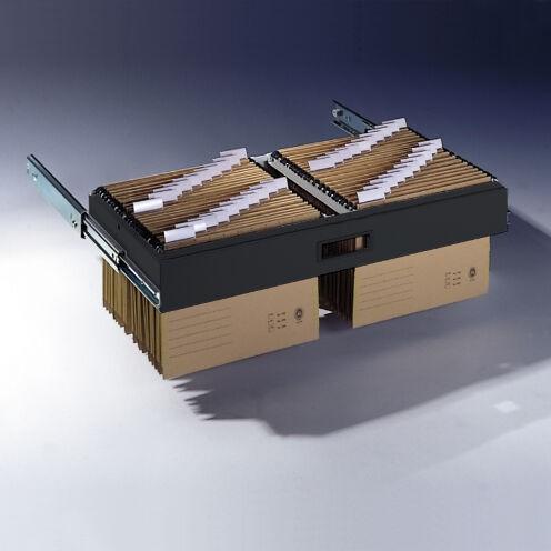 Hängerahmen für Hefter DIN A4, für Aktenschrank mit Rollladen B1000xT420mm