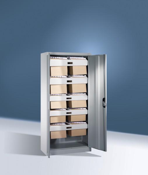 Büroschrank mit 3 Hängerahmen Größe: 1950 x 930 x 400 mm (HxBxT)