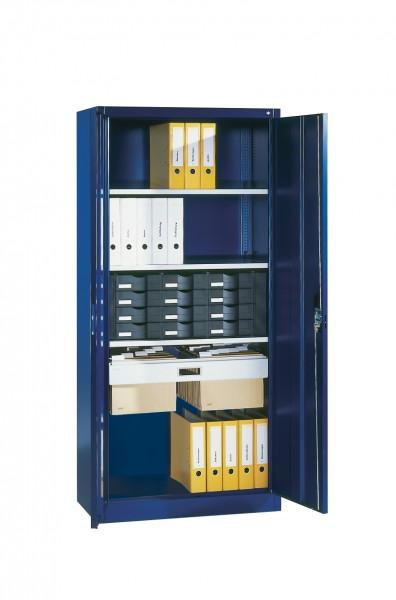 Büroschrank mit Schubladenblock, Hängerahmen und ausziehbarer Ablage Größe: 1950 x 930 x 400 mm (HxB