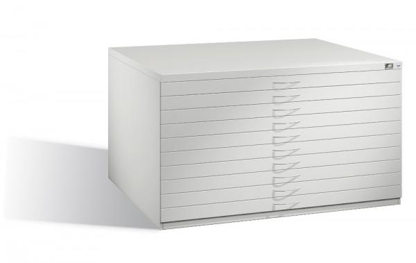 Planschrank DIN A0 mit 10 normalen Schubladen