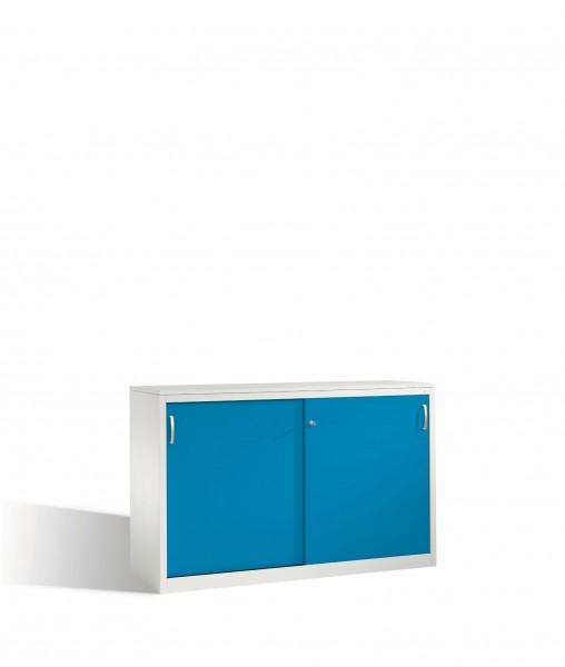 Akten-Sideboard Acurado mit Schiebetüren, 2 x 2 Ordnerhöhen, H1000xB1600xT500mm