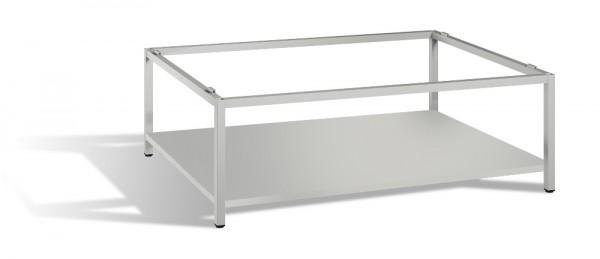 Untergestell mit Zwischenboden für Planschrank DIN A0 Höhe 44,5 cm