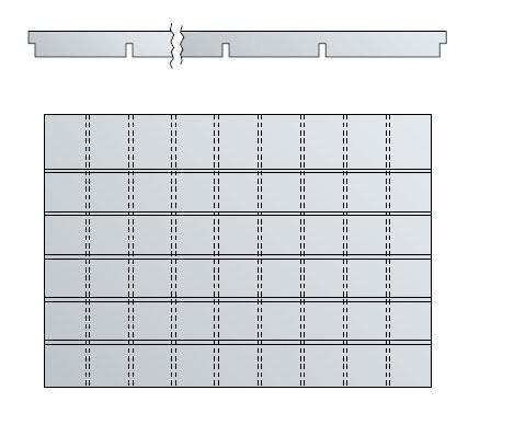 Schubladen-Querteiler für DIN A1 Schubladen