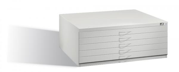Planschrank DIN A1 mit 5 normalen Schubladen