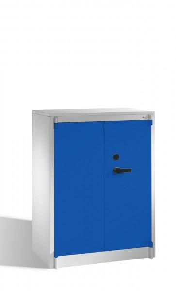 Feuerschutzschrank niedrig mit 2 Türen 1226x930x500 mm