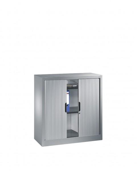 Akten-Sideboard Omnispace mit Rollladen, 2 Ordnerhöhen, H1030xB1000xT420mm