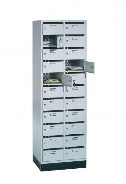 Verteilerschrank Intro mit 22 Fächern, H1950xB620xT500mm