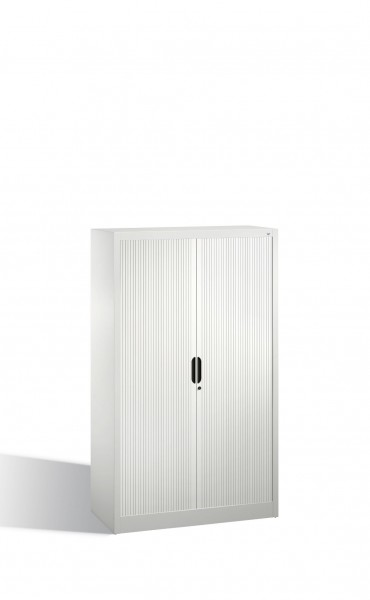 Akten-Sideboard Omnispace mit Rollladen, 4 Ordnerhöhen, H1660xB1000xT420mm