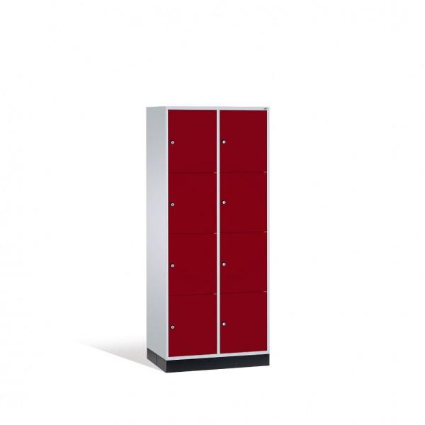 Schließfachschrank Intro XL, 8 Fächer, H1950xB820xT600mm