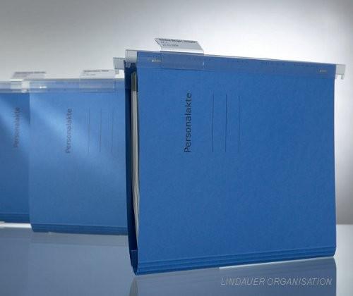 Personalakte mit Schlauchheftung inkl. Deckblätter und Register
