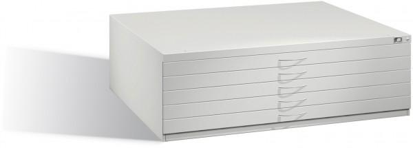 Planschrank DIN A0 mit 5 normalen Schubladen