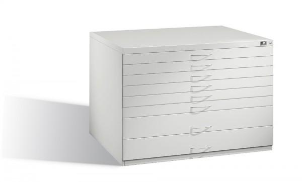Planschrank DIN A1 mit 8 Schubladen