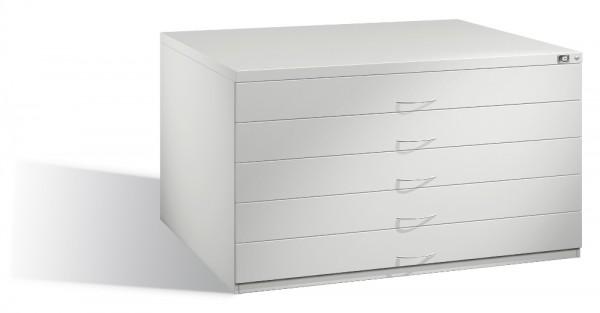 Planschrank DIN A0 mit 5 Schubladen (doppelt)