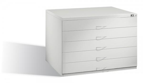 Planschrank DIN A1 mit 5 Schubladen (doppelt)