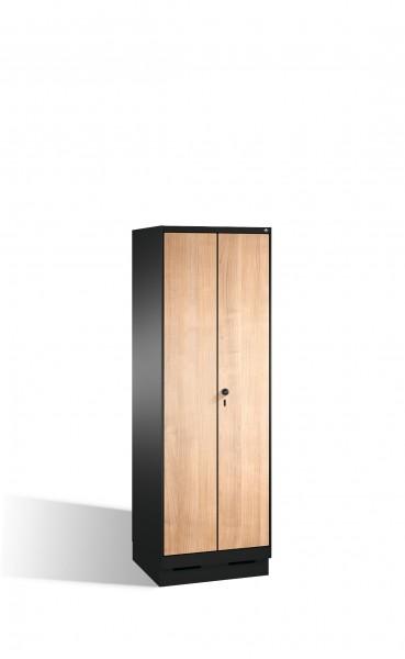 Doppelspind Evolo auf Sockel, 2 Abteile, H1800xB600xT500mm