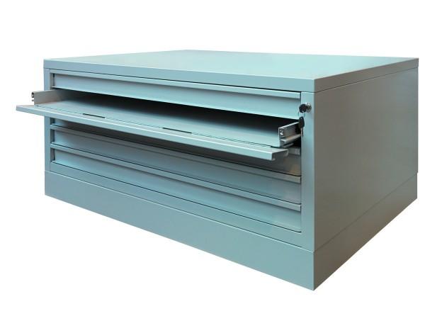 Planschrank Sondergröße mit 5 Schubladen (magnetisch) DIN A0plus