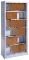 Büroregal mit 6 Pendelstangen Größe: 1950 x 930 x 400 mm (HxBxT)