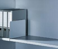 Aktenstütze für Aktenregal / Aktenschrank, H200xB100xT270mm
