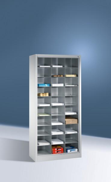 Büroregal mit 30 Fächern Größe: 1950 x 930 x 400 mm (HxBxT)