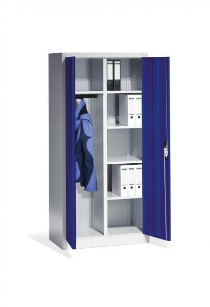 Büroschrank mit Hutboden und Garderobe Größe: 1950 x 930 x 500 mm (HxBxT)