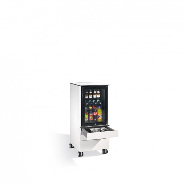 Kühlschrank-Caddy Asisto für Besteck und Geschirr, H1150xB500xT600mm