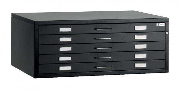 Planschrank Sondergröße DIN A0plus mit 5 Schubladen