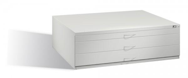 Planschrank DIN A0 mit 3 Schubladen