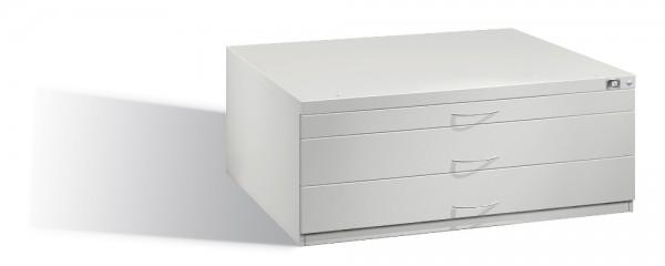 Planschrank DIN A1 mit 3 Schubladen