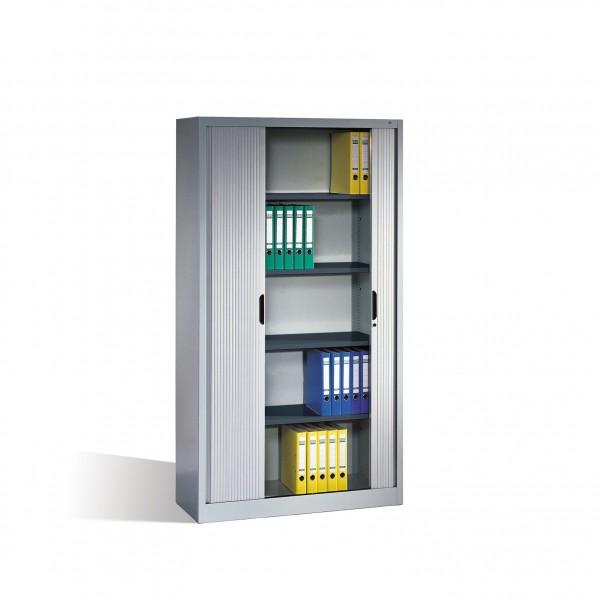 Aktenschrank Omnispace mit Rollladen, 5 Ordnerhöhen, H1980xB1000xT420mm