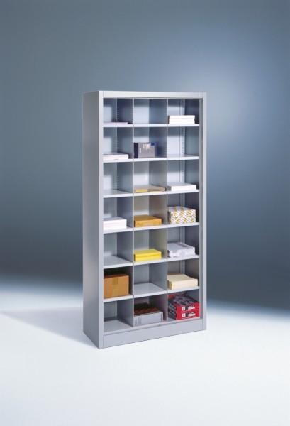 Büroregal mit 21 Fächern Größe: 1950 x 930 x 400 mm (HxBxT)