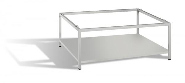 Untergestell mit Zwischenboden für Planschrank DIN A1 Höhe 44,5 cm