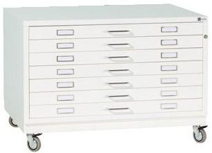 Planschrank Sondergröße DIN A0plus mit 7 Schubladen