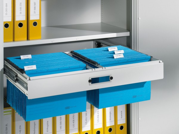 Hängerahmen für Hefter DIN A4, für Aktenschrank mit Drehtüren B930xT400mm