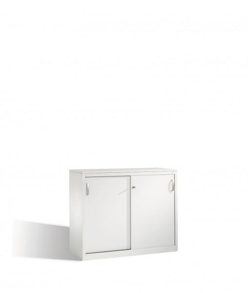 Akten-Sideboard Acurado mit Schiebetüren, 2 Ordnerhöhen, H1000xB1200xT500mm