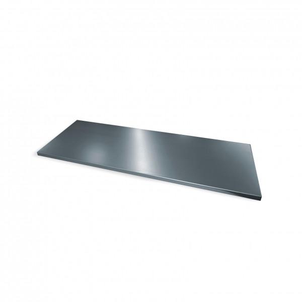 Einlegeboden verzinkt für Schwerlastschrank mit Schiebetüren B1200xT500mm
