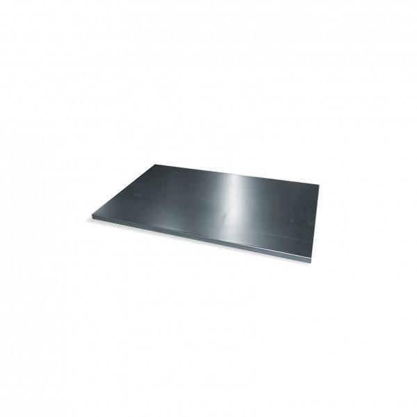 Einlegeboden verzinkt für Schwerlastschrank mit Drehtüren B930xT600mm