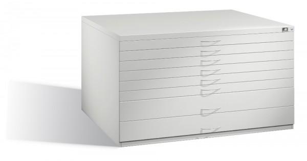 Planschrank DIN A0 mit 8 Schubladen