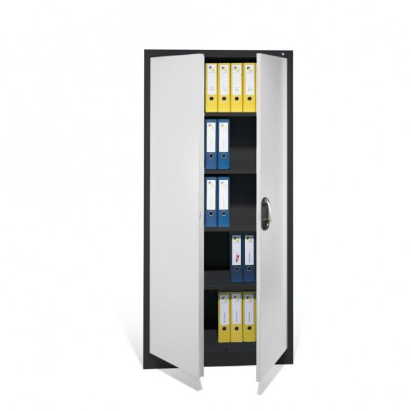 Büroschrank mit 2 Türen Größe: 1950 x 700 x 400 mm (HxBxT)