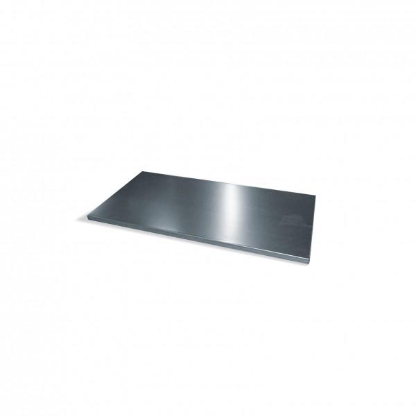 Einlegeboden verzinkt für Schwerlastschrank mit Drehtüren B930xT500mm