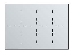 Fachunterteilung 8 x DIN A3 für Planschrank A0